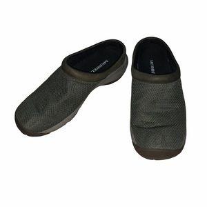 Men's Merrell Dark Green Slip On Sneakers Clogs